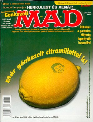 MAD Magazine #13 • Hungary • 2nd Edition - MAD