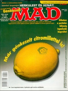 Go to MAD Magazine #13 • Hungary • 2nd Edition - MAD
