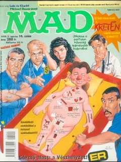 Go to MAD Magazine #14 • Hungary • 2nd Edition - MAD