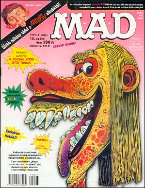 MAD Magazine #15 • Hungary • 2nd Edition - MAD