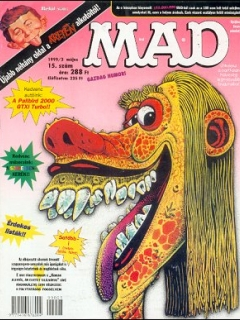 Go to MAD Magazine #15 • Hungary • 2nd Edition - MAD