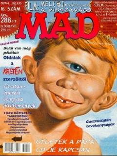 Go to MAD Magazine #16 • Hungary • 2nd Edition - MAD