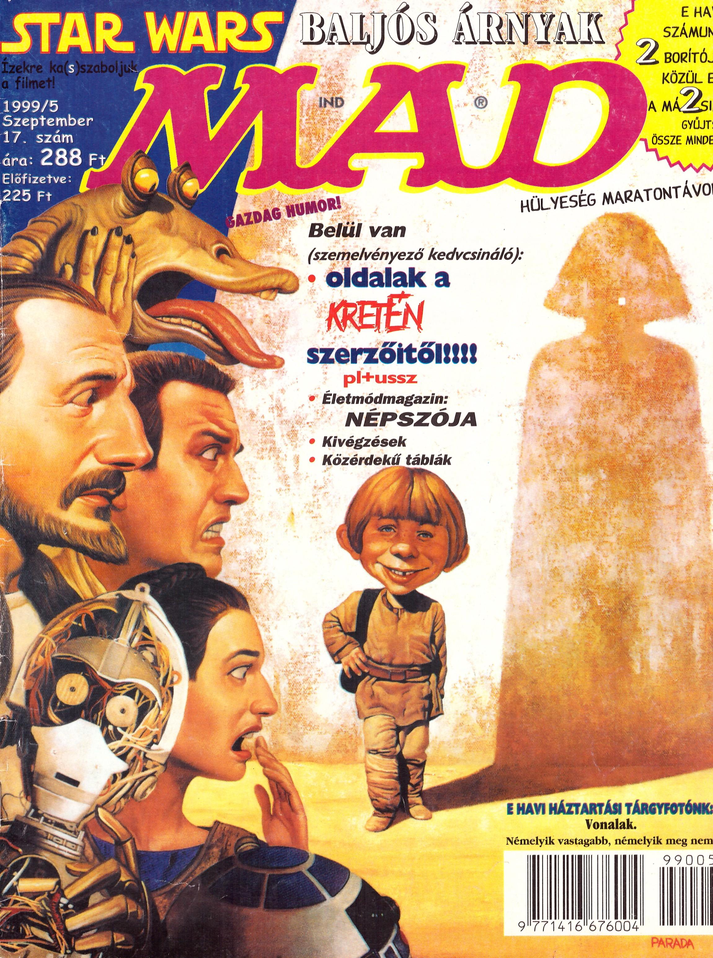 MAD Magazine #17 • Hungary • 2nd Edition - MAD