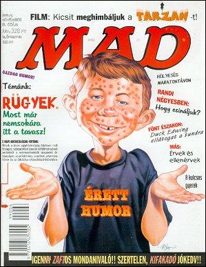 MAD Magazine #18 • Hungary • 2nd Edition - MAD
