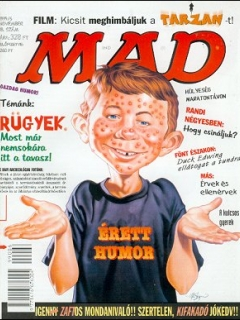 Go to MAD Magazine #18 • Hungary • 2nd Edition - MAD