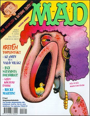 MAD Magazine #19 • Hungary • 2nd Edition - MAD