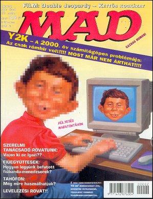 MAD Magazine #20 • Hungary • 2nd Edition - MAD