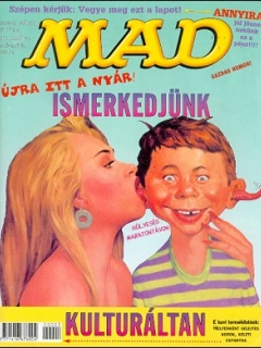 Go to MAD Magazine #21 • Hungary • 2nd Edition - MAD