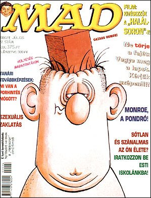 MAD Magazine #22 • Hungary • 2nd Edition - MAD