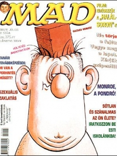 Go to MAD Magazine #22 • Hungary • 2nd Edition - MAD
