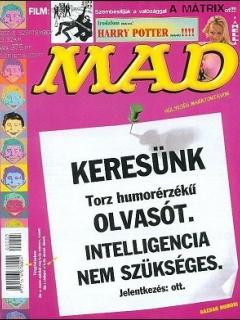 Go to MAD Magazine #23 • Hungary • 2nd Edition - MAD