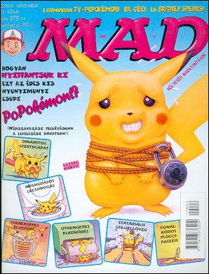 MAD Magazine #24 • Hungary • 2nd Edition - MAD