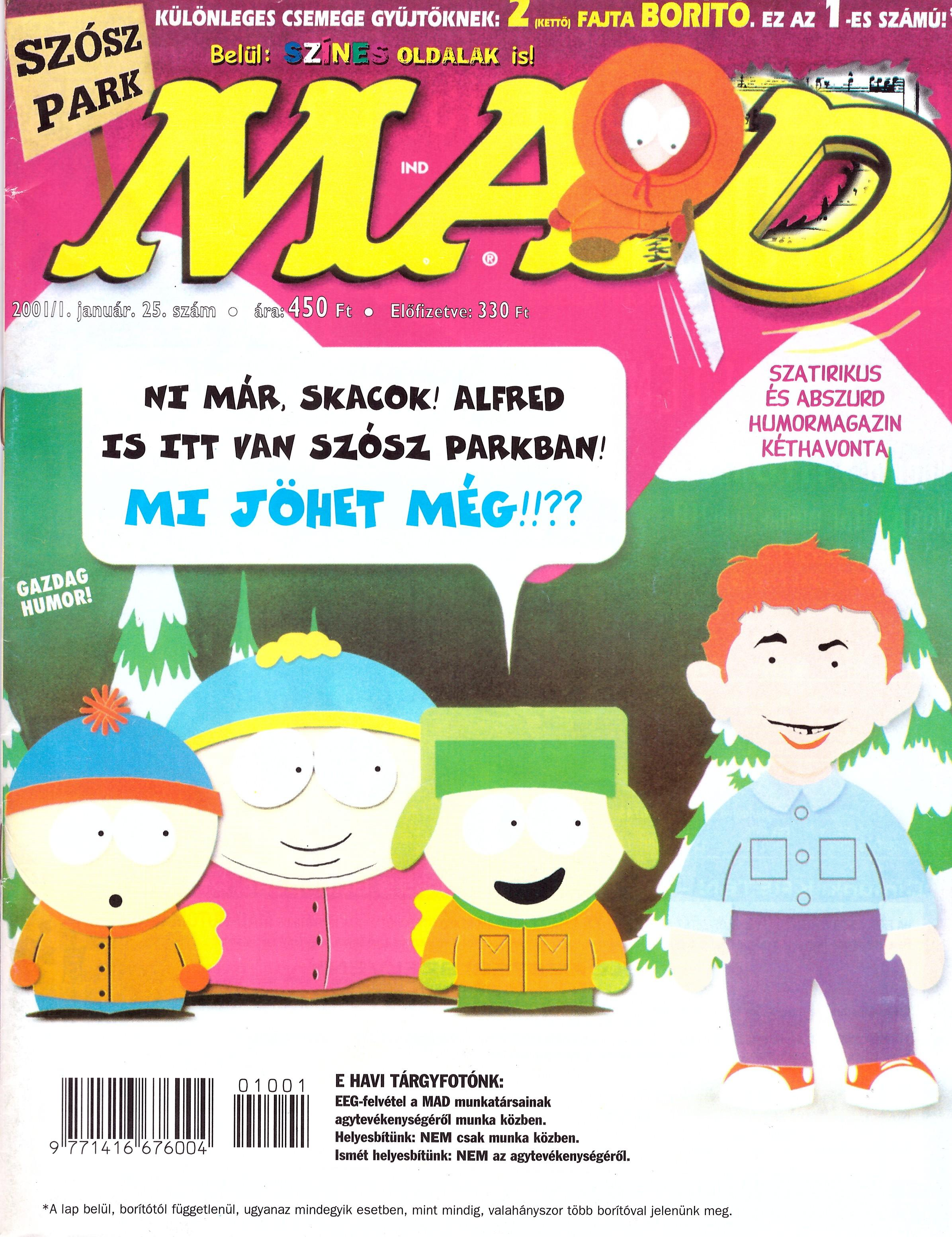 MAD Magazine #25 • Hungary • 2nd Edition - MAD