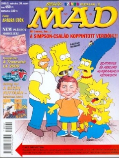 Go to MAD Magazine #26 • Hungary • 2nd Edition - MAD