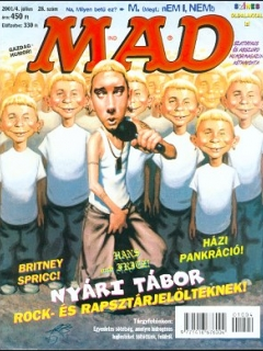 MAD Magazine #28 • Hungary • 2nd Edition - MAD