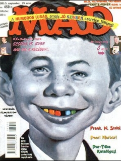 Go to MAD Magazine #29 • Hungary • 2nd Edition - MAD