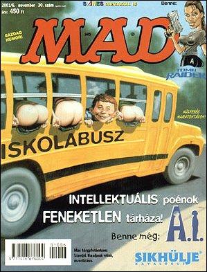 MAD Magazine #30 • Hungary • 2nd Edition - MAD