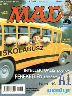 Go to MAD Magazine #30 • Hungary • 2nd Edition - MAD