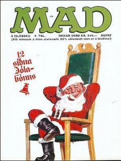 Go to MAD Magazine #4 • Iceland