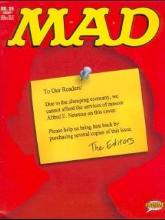 Go to MAD Magazine #26 • India