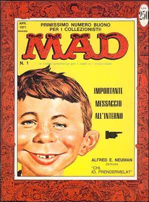 MAD Magazine #1 • Italy • 1st Edition