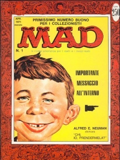 Go to MAD Magazine #1 • Italy • 1st Edition