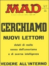MAD Magazine #2 • Italy • 1st Edition