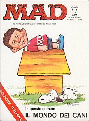MAD Magazine #3 • Italy • 1st Edition