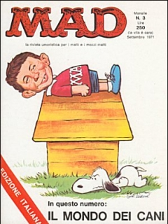 Go to MAD Magazine #3 • Italy • 1st Edition
