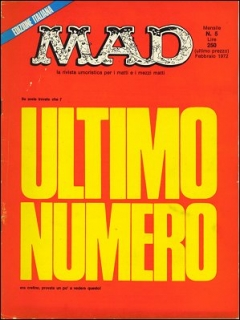 Go to MAD Magazine #5 • Italy • 1st Edition