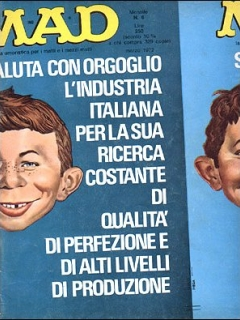 Go to MAD Magazine #6 • Italy • 1st Edition