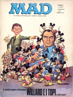 Go to MAD Magazine #7 • Italy • 1st Edition