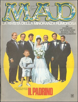 MAD Magazine #8 • Italy • 1st Edition