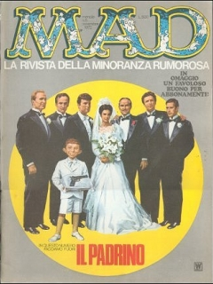 Go to MAD Magazine #8 • Italy • 1st Edition
