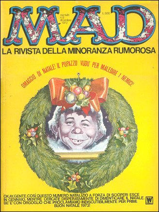 MAD Magazine #9 • Italy • 1st Edition