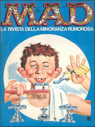 MAD Magazine #10 • Italy • 1st Edition