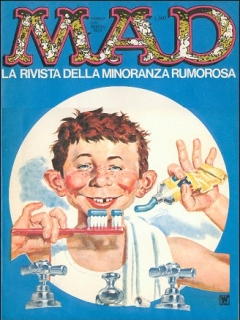Go to MAD Magazine #10 • Italy • 1st Edition