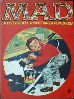 Go to MAD Magazine #11 • Italy • 1st Edition