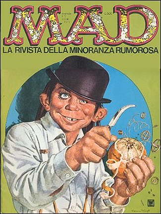 MAD Magazine #12 • Italy • 1st Edition