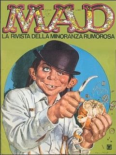 Go to MAD Magazine #12 • Italy • 1st Edition