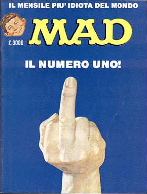 MAD Magazine #1 • Italy • 2nd Edition