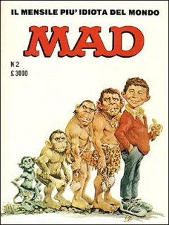 Go to MAD Magazine #2 • Italy • 2nd Edition
