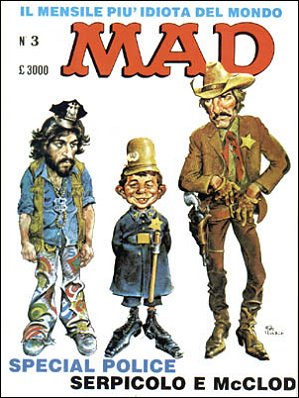 MAD Magazine #3 • Italy • 2nd Edition