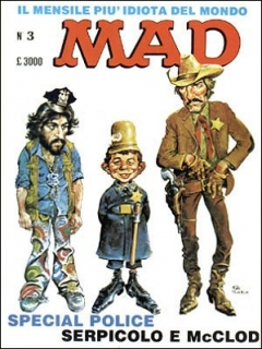 Go to MAD Magazine #3 • Italy • 2nd Edition