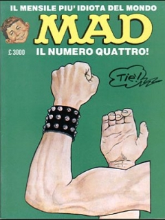 Go to MAD Magazine #4 • Italy • 2nd Edition