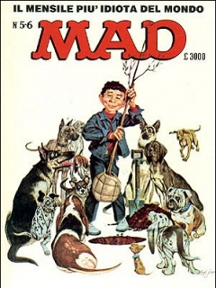 Go to MAD Magazine #5 • Italy • 2nd Edition