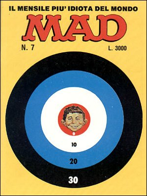 MAD Magazine #6 • Italy • 2nd Edition