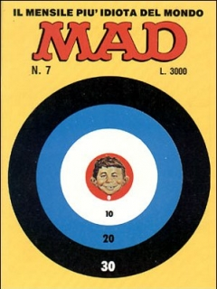 Go to MAD Magazine #7 1985 • Italy • 2nd Edition