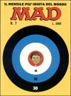 MAD Magazine #7 1985 • Italy • 2nd Edition