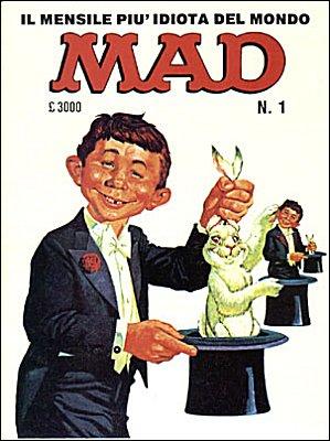 MAD Magazine #8 • Italy • 2nd Edition